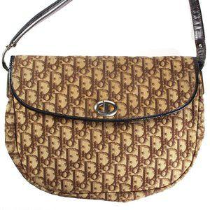 Christian Dior Monogram Vintage Shoulder Bag